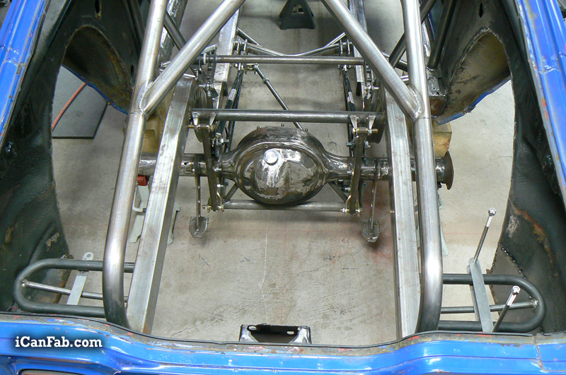 Building an NHRA 12 point roll cage