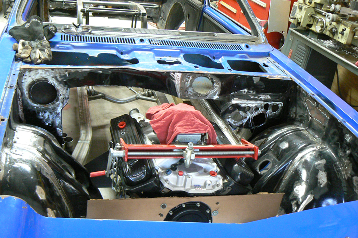 Chassis suspension fabrication