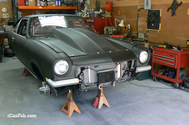Finishing another successful custom street car build