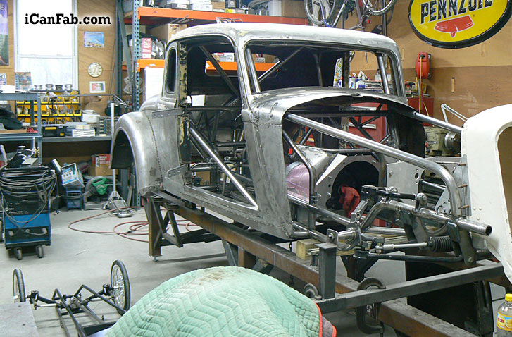 In The Final Stages Of This 33 Plymouth Coupe Build