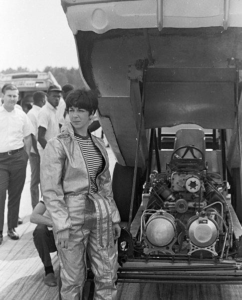 Della Woods in 1970s