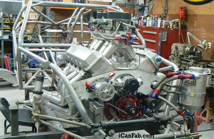camaro drag racing project