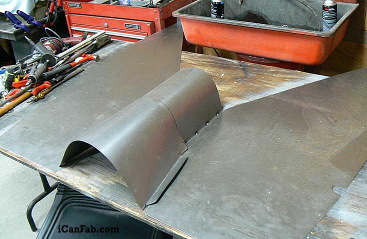 sheet metal floor pans