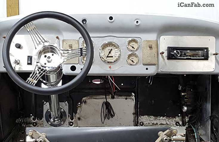Plymouth Coupe custom dash