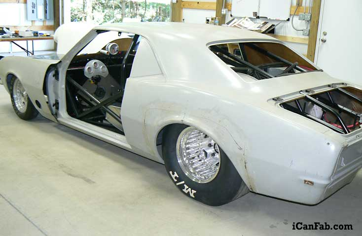 68 Camaro drag racing rolling chassis for sale