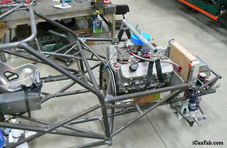 Chassis Fabrication Chevy Vega Drag Car